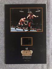 WWE 2001 ROYAL RUMBLE Senitype Film Memorobilia Card #25907 Steve Austin