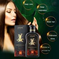 200ml Natural Ginger Shampoo Oil-Control Dandruff Hair Care off Loss