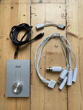 Apogee Duet FireWire Audio Interface (Mac) + Apple Firewire 800 Adapter