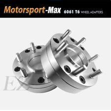 2 Hub Centric Wheel Adapters 5x4.5 To 6x5.5 | 6 Lug Chevy Wheel on Toyota Rav4