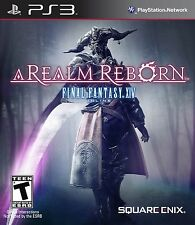 NEW Final Fantasy XIV 14 Online A Realm Reborn (Sony Playstation 3, 2013) NTSC