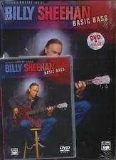 BILLY SHEEHAN - BASIC BASS GUITAR BOOK & DVD NEW