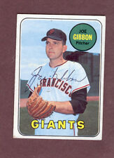 JOE GIBSON 1969 TOPPS SIGNED AUTOGRAPHED CARD #158 GIANTS