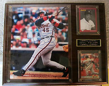 CECIL FIELDER AUTOGRAPHED DETROIT TIGERS COLLAGE