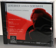Reference Recordings CD RR-90CD: Serebrier conducts Serebrier - 1999 USA SEALED