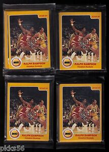 1983-84 Star Houston Rockets set (RALPH SAMPSON rookie/HALL OF FAME) 12 SETS!!!