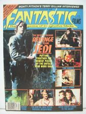 FANTASTIC FILMS magazine #28 1982 Star Wars REVENGE OF THE JEDI movie preview
