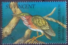 Green Backed Heron, Water Birds, St. Vincent 1995 MNH (C1)