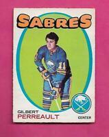 1971-72 OPC  # 60 SABRES GILBERT PERREAULT 2ND YEAR FAIR CARD (INV# C9200)