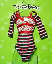 MONSTER HIGH GHOULIA YELPS 1ST ORIGINAL DOLL OUTFIT REPLACEMENT SHIRT BODYSUIT