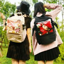 Harajuku Transparent ita Bag Backpack Lolita Girl Shoulder Schoolbag