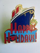 Pin 4063 Dcl - Disney Cruise Line Happy Holidays Ship Dangle 2000 Disney Le