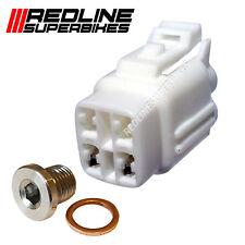 O2 Sensor Oxígeno Lambda Eliminador Set supresión Plug Suzuki GSXR 600 08 - 16