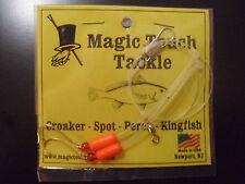 Magic Touch Tackle No.355 Hi-Lo Rig for Perch Spot Kingfish *RED*