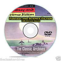 Fantasy & Science Fiction, 149 Vintage Pulp Magazine, Golden Age SCI FI DVD C65