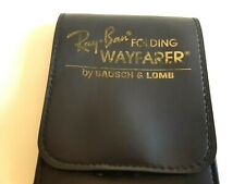 AUTHENTIC 1980s- 1990s  BAUSCH & LOMB B&L RAY BAN FOLDING WAYFARER USA CASE ONLY