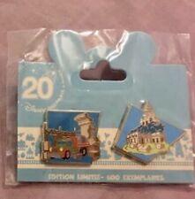 NEW Disneyland Paris 20th Anniversay Indiana Jones Attraction pin LE600