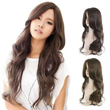 Women's Cosplay Fashion Wigs Natural Synthetic Long Curly Hair Ladies Full Wigs