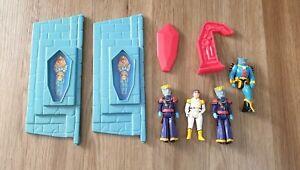 WEP Ltd Voltron action figure 1984 castle of lions Panosh part coffin figures