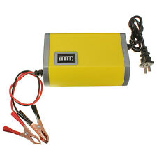 12V 6A Motorcycle Car Auto Battery Charger Intelligent Charging Machine