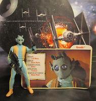 1996  Kenner Star Wars POTF 2 Greedo Loose & Complete Action Figure