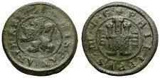 FELIPE III. 4 MARAVEDIS. SEGOVIA. 1615.