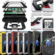 Shockproof Heavy Duty Bumper Aluminum Metal Waterproof Cover Case iPhone 6 7 8