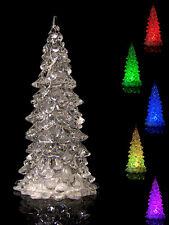 LED Kristall-Weihnachtsbaum mit Farbwechsel Tannenbaum Christbaum Weihnachten