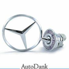 Logo emblème du capot étoile 44 mm Mercedes-Benz Classe S CLK200 W124 W202 W203
