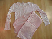 PETIT BATEAU schöner Pyjama rosa Gr. 12 J TOP BI216
