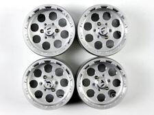 GDS RACING 2.2 Alloy Wheels Rim set for 1/10 rc crawler rc car silver 4PCS 35mm
