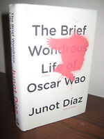 Brief Wondrous Life of Oscar Wao Junot Diaz Pulitzer Prize 1st Edition Fiction