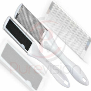 SALON QUALITY DOUBLE SIDED FOOT FILE/EMERY BOARD Hard Skin Grater Pedicure TOOL