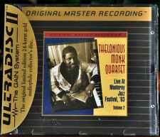 MOBILE FIDELITY GOLD CD UDCD 686 THELONIOUS MONK Monterey ´63 VOL. 2 SEALED