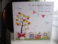 Handmade Personalised Gardening Birthday Retirement Card Female Mum Friend Nan