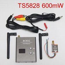 Mini FPV 32Ch 5.8G Wireless AV 600mW Transmitter TS5828 + Receiver RC832