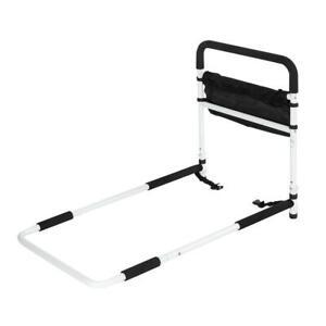 Bed Rails Adjustable Handle For Elderly Adult Seniors Assist Safety Guard Home