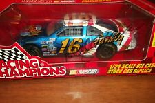 TED MUSGRAVE #16 FAMILY CHANNEL AUTOGRAPHED 96 PREVIEW RACING CHAMPIONS 1:24(103