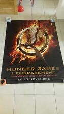 AFFICHE THE HUNGER GAMES CATCHING FIRE 4x6 ft Bus Shelter Poster Original 2013