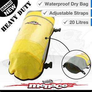 20L Waterproof DRY BAG - Water Proof Outdoor Sack - Kayak Boat Duffle Backpack