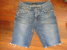 mens Nudie shorts  sz 30 jeans denim