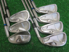 TAYLORMADE RAC TP FORGED IRON SET 4-PW GOLF CLUBS PROJECT X 6.0 STIFF STEEL USED
