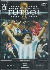 La leyenda del Futbol 3 Capitulos Continentes  DVD