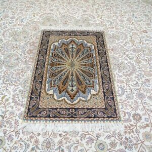 YILONG Green Handwoven Sik Rug All Size Available Peacock Design Home Carpet