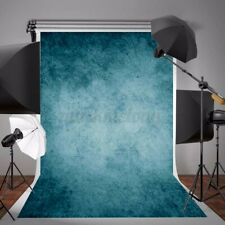 5x7ft Retro Blue Abstract Backdrop Studio Photography Props Background Photo US