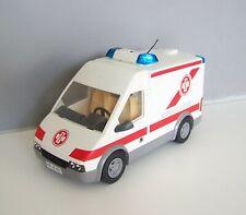 PLAYMOBIL (Y4204) HOPITAL - Ambulance avec Gyrophare 4221