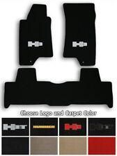Hummer H3 & H3T 3pc Velourtex Carpet Floor Mats-Choice of Carpet Color & Logo