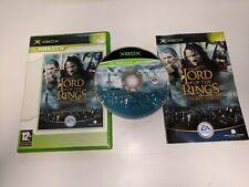 * Original Xbox Classic Game * THE LORD OF THE RINGS - THE TWO TOWERS * X Box