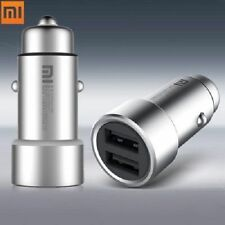 For Xiaomi Quick Charging Car Charger Dual USB Ports LED Charging Cable 12 - 24V