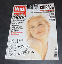 Affiche Pub Paris Match Sharon Stone 59x78 cm